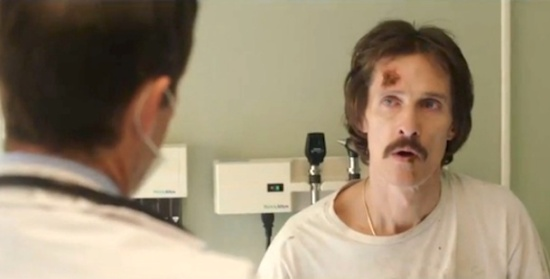 Ron (McConaughy) can't believe his diagnosis