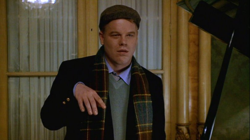 "PSH as yuppie Freddie Miles in ""The Talented Mr. Ripley"" (1999)"