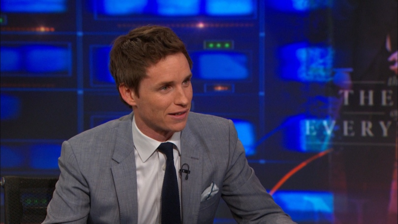 Eddie Redmayne on The Daily Show