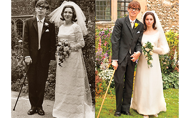 Reality vs. film wedding photos