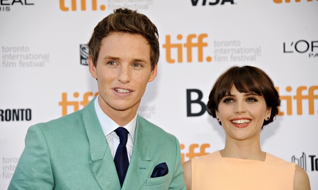 Eddie Redmayne & Felicity Jones at Toronto International Film Festival