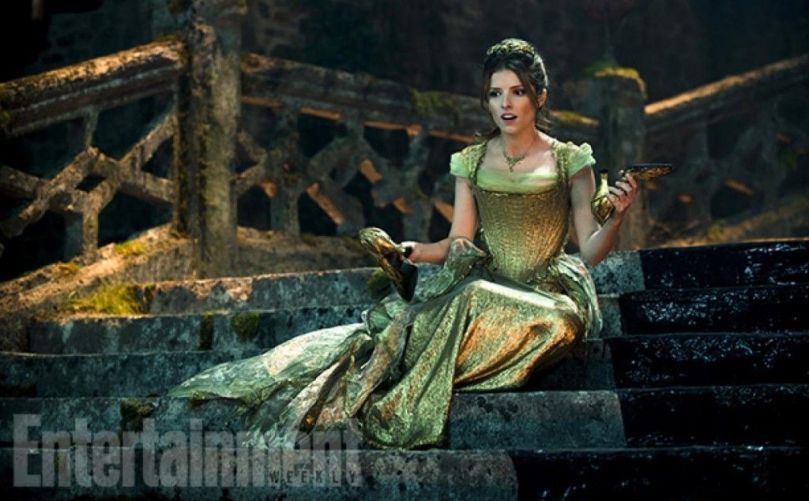 Cinderella (Anna Kendrick) is indecisive about The Prince.