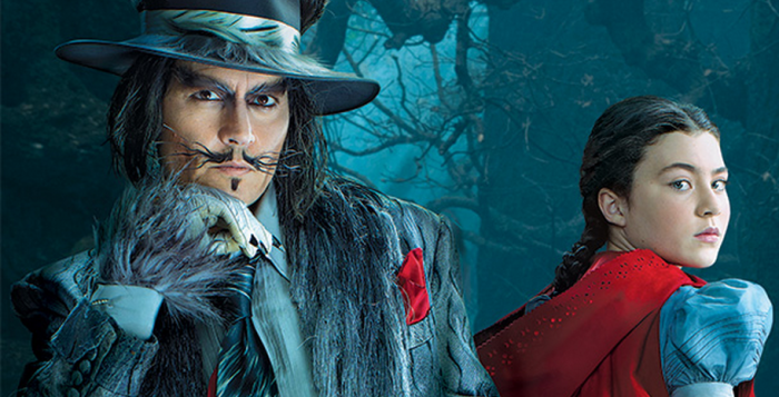 The Wolf is played by Johnny Depp.
