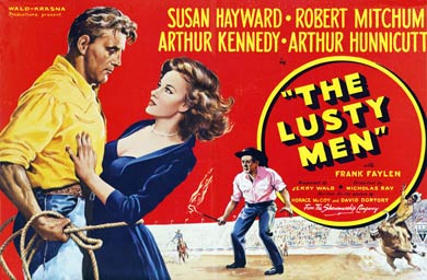 The Lusty Men_poster