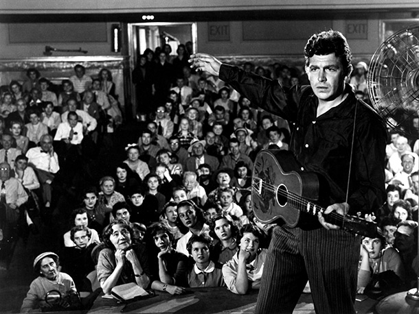 A FACE IN THE CROWD, Andy Griffith, 1957