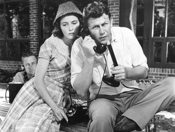 A Face in the Crowd (1957) Directed by Elia Kazan Shown from left: Patricia Neal, Andy Griffith