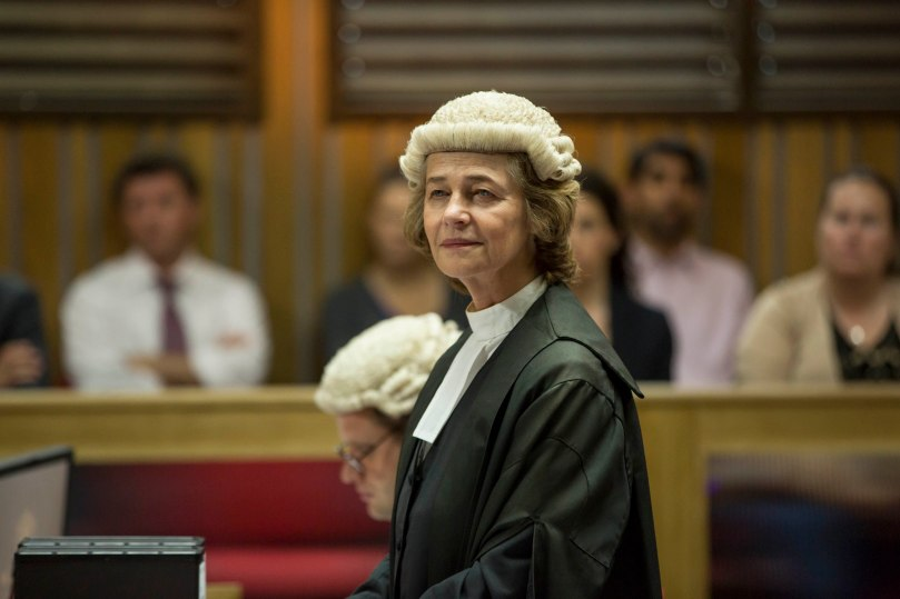 KUDOS FILM AND TELEVISION PRESENTS BROADCHURCH SERIES 2 Images are under strict Embargo not to be used before the 13TH January. PICTURED : CHARLOTTE RAMPLING. Copyright ITV/Kudos.