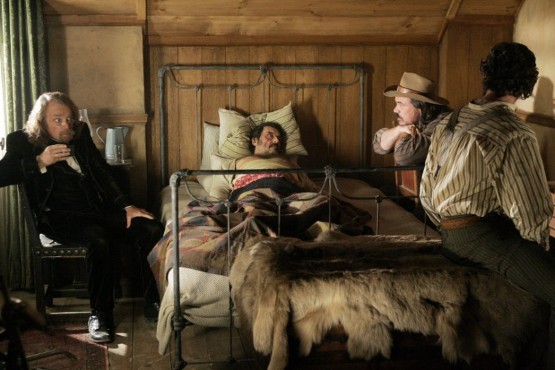 Deadwood (TV) Timothy Olyphant,Ian McShane,Molly Parker,Brad Dourif,W. Earl Brown,John Hawkes,Paula Malcomson,Dayton Callie,Leon Rippy,William Sanderson,Robin Weigert,Sean Bridgers,Bree Seanna Wall,Jim Beaver,Kim Dickens,Powers Boothe,Anna Gunn [dvdbash]